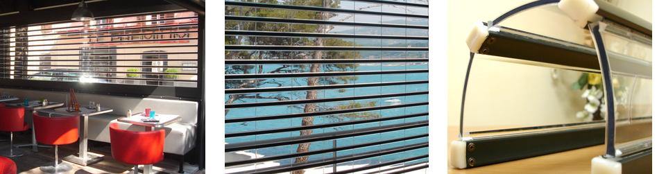 Volets protect volets roulants transparents - Panneau en polycarbonate transparent ...